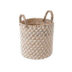 tall-round-floor-basket-with-white-lace
